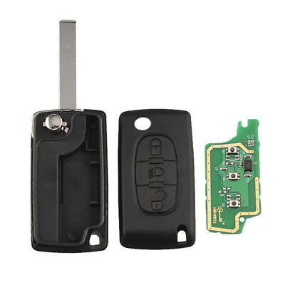 Keyless Entry Remote Control Car Key Fob Replacement Fits Citroen PCF7941