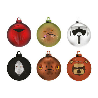Star Wars Return of the Jedi Christmas Baubles NEW