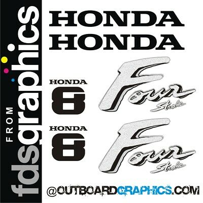 other outputs available Yamaha 8hp 4 stroke outboard engine decals//sticker kit