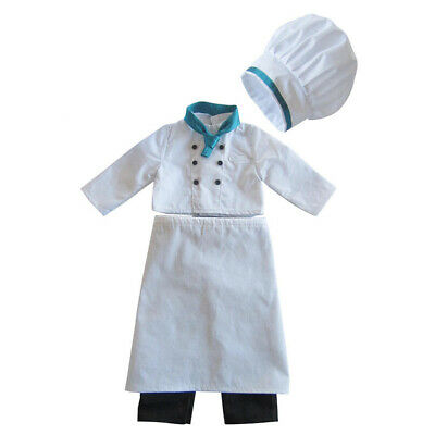 Chef Uniforms Clothes for 18inch American Girl Our Generation Doll Outfit
