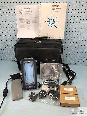 N2620A Agilent Dell Framescope Pro Handheld Gig-E Network Performance Analyzer