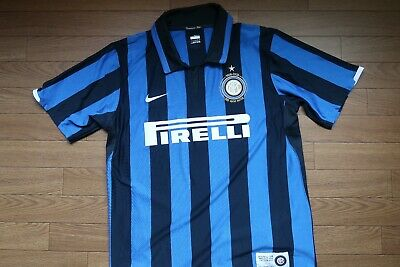 online store 3d135 9896f INTER MILAN 100% Original Jersey L 2007/08 Centenary Home USED Rare