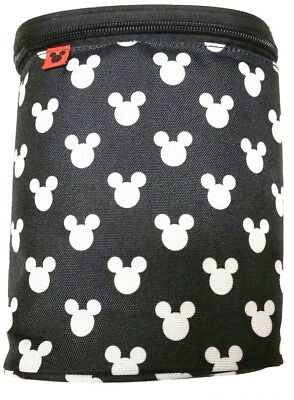 Disney Baby Insulated Double Bottle Holder, Mickey Mouse, Removable Divider, OEM