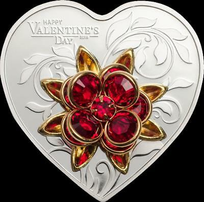 Cook Islands 2019 $5 Happy Valentine's Day 20g Proof Silver Coin PRESALE