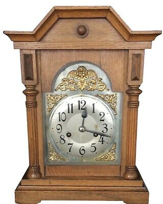Cherub Faced Antique Mantle Clock - German (CB) Badische Uhrenfabrik