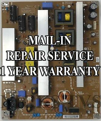 Mail-in Repair Service for LG EAY63168603 Power Supply 1 YEAR WARRANTY