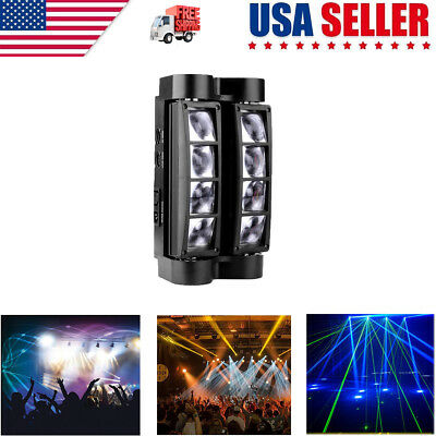 2019 RGBW DJ Spider Moving Head Stage Lighting 80W Beam LED Disco Party Lights