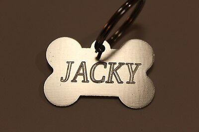 Dogs ID, personalized ID tag, tags dog, badge, pet disc, for small pets, collar.