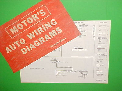 1963 1964 1965 1966 1967 mercury comet convertible cyclone gt wiring  diagrams