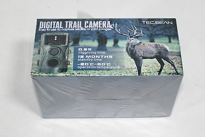 TEC.BEAN Trail Camera 12MP 1080P 2.3 Inch LCD Screen Full HD Hunting Game Camera