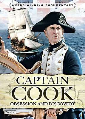 New: CAPTAIN COOK - Obsession & Discovery (Documentary) 2-Disc DVD Set
