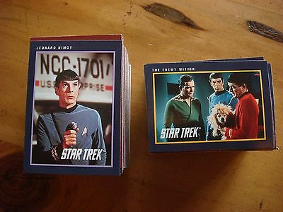 Star Trek 25th Anniversary Trading Cards 1991 - 289 Card Lot + Bonus