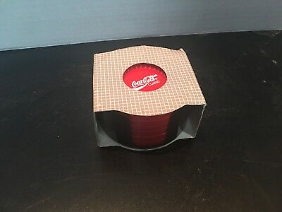 Coca-Cola Classic Coaster Set - 6 Pieces In Original Packaging