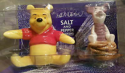 Pooh And Piglet Paul Cardew Salt And Pepper Shakers