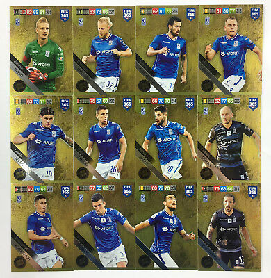 2019 FIFA 365 ADRENALYN XL - set of 12 Limited Edition cards LECH POZNAN