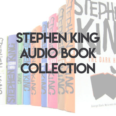 Stephen King Audio Book Collection **FAST DELIVERY** DOWNLOAD