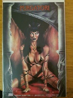 Purgatori Mischief Night #1 Dynamic Forces Exclusive Red Foil Limited To 699