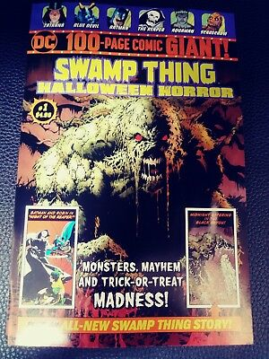 Swamp Thing DC 100-Page Giant Halloween Horror 1  Walmart Exclusive