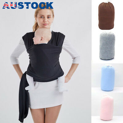 Newborn Breastfeeding Pouch Infant Baby Sling Stretchy Adjustable Wrap Carrier
