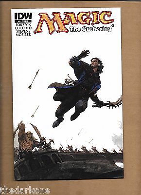 MAGIC THE GATHERING #1 CVR RIB INCENTIVE VARIANT COVER  IDW Christopher Moeller