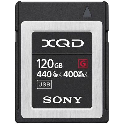 120GB Sony XQD G Series QD-G120G Memory Card