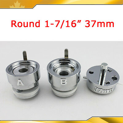 DIY PRO Round 37mm  Interchangeable Die Mould for Pro  Badge Button Maker