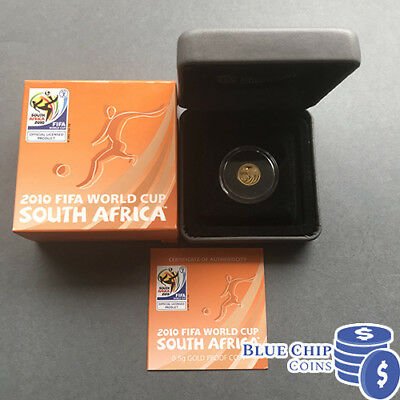 2010 $2 FIFA World Cup South Africa 0.5g Gold Proof Coin by Perth Mint