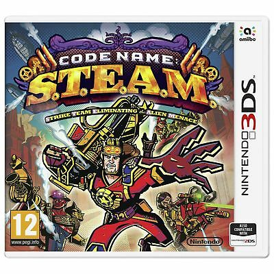 Code Name: STEAM Nintendo 3DS Game 12+ Years