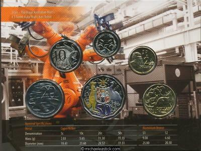 2012 Australian Uncirculated Coin Set, as issued by the Royal Australian Mint