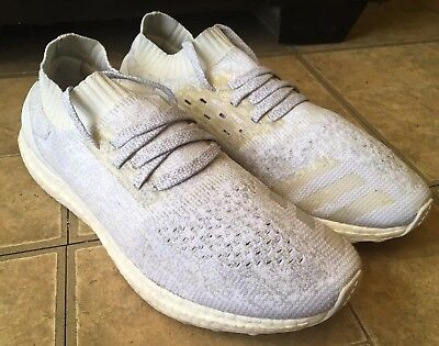 794957340 Adidas Ultra Boost Uncaged  Triple White  Running Shoes - BB0773 - Men Size  11.5