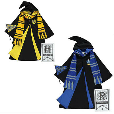 Boys Girls Harry Potter Ravenclaw Robes Fancy Dress Costume Age 5-6