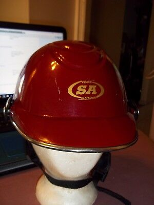 Adjustable Hard Hat Chinese with chin strap and mounts for face shield