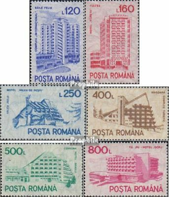 Romania 4746X-4751X MNH 1991 clear brands: Hotels and Hostels