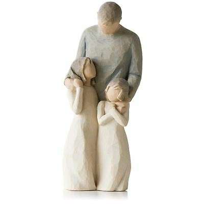 Willow Tree My Girls Figurine Resin Father's Day Dad Keepsake Ornament Gift Box