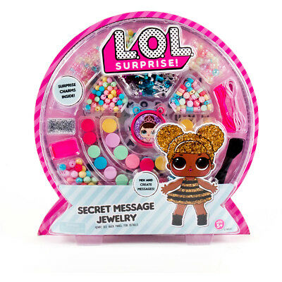 NEW LOL Surprise Secret Message Jewellery Kit Craft Set Christmas Birthday Gift