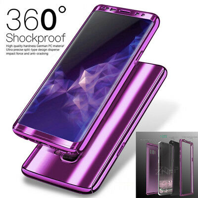 For Samsung Galaxy S9 S8 Plus 360°Shockproof Full Body Hybrid Hard Case Cover