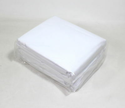 Pinzon 400-Thread Count Egyptian Cotton Sheet Set Cal King, White-NEW CONDITION