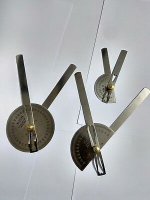 Goniometer Set Of 3 Pc Made Stainless Steel
