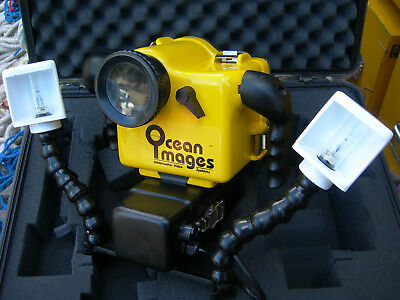 Ocean Images Dolphin Pc-100 Professional Underwater Video Housing + Rb-60 Lights