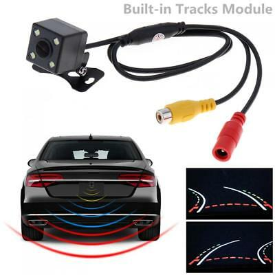Car Dynamic Trajectory Backup Rearview Car Camera 600TVL CCD + Parking Line 12V