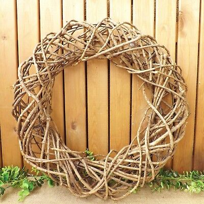 Large Round Natural Rattan Wreath Home Wedding Easter Christmas Decoration