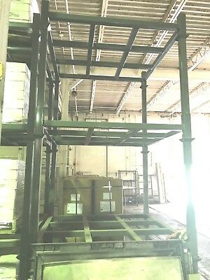 SPG Shelf Steel Pallet Rack Modular Stackable in Excellent Condition