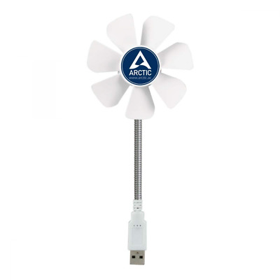 ARCTIC Breeze Mobile - Mini USB Desktop Fan with Flexible Neck I Portable Desk f