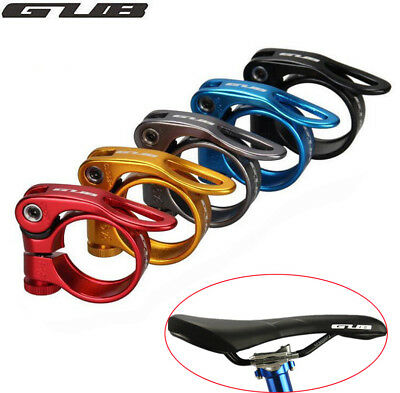 GUB MTB Road Bike Seatpost Clamp 31.8/34.9mm Bicycle Seat Clamps CNC Clip