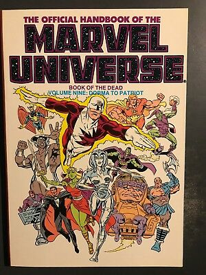 The Official Handbook Of The Marvel Universe - Volume Nine