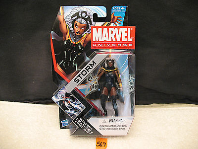 "Marvel Universe STORM 3.75"" Action Figure 003 Series 4 New 2011 HASBRO"