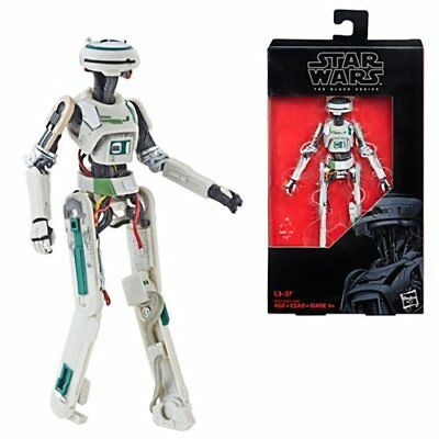 Star Wars The Black Series L3-37 6-Inch Action Figure In Stock!