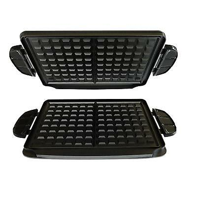 Genuine Original George Foreman Evolve Grill Type Waffle Plates GFP84WP