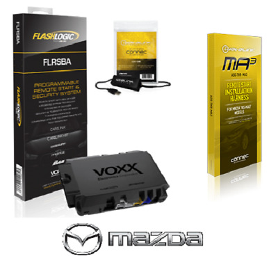 Flashlogic FLRSBA Remote Start Module 3X LOCK Start - Selected 2013-2019 Mazdas