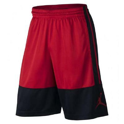 100% Quality Nike Air Jordan Double Crossover Basketball Shorts Red Black 811466 687 New Mens Activewear Tops
